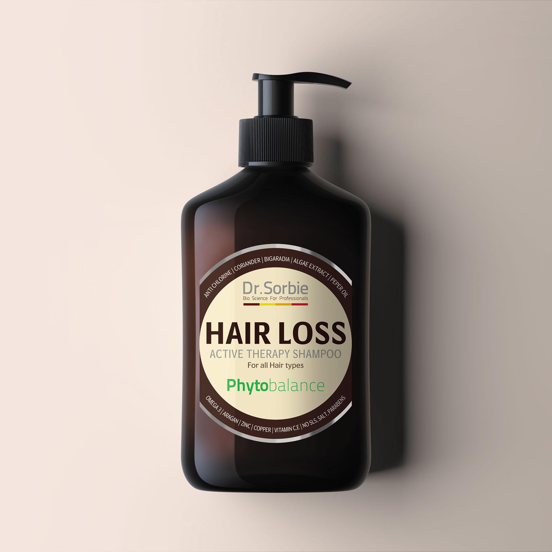 Hair loss-Shampoo by Dr. Sorbie