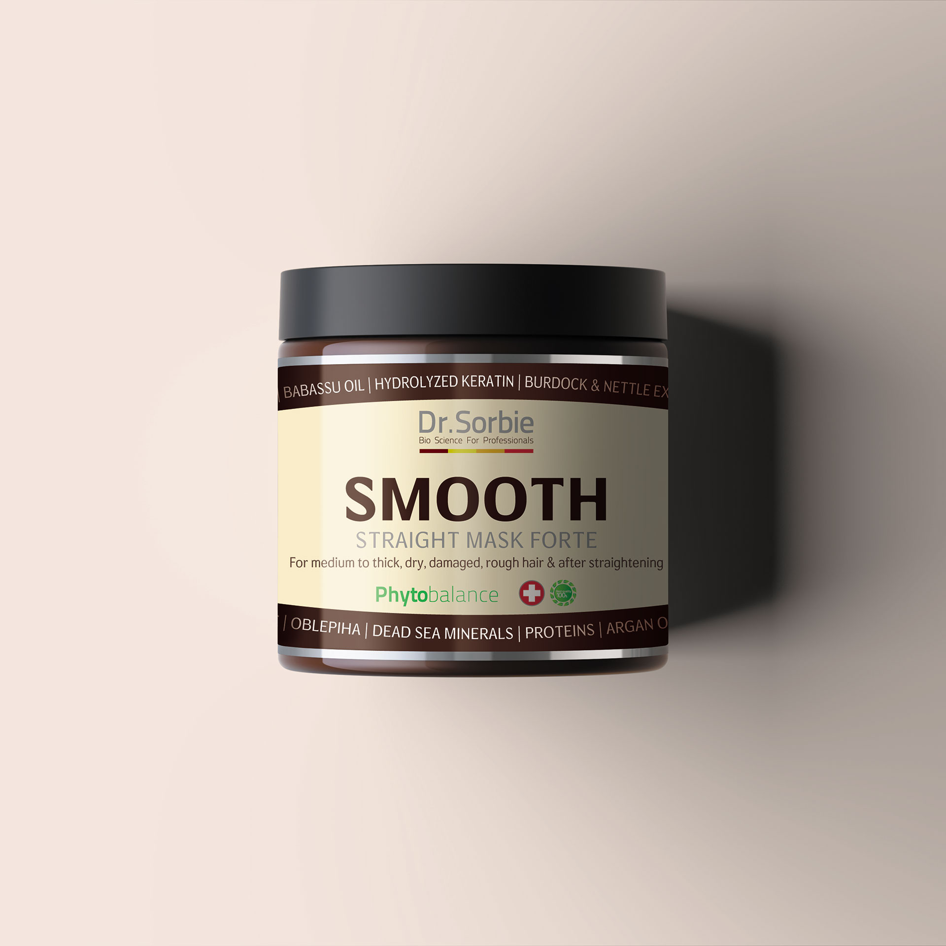 Smooth & straight mask by Dr. Sorbie